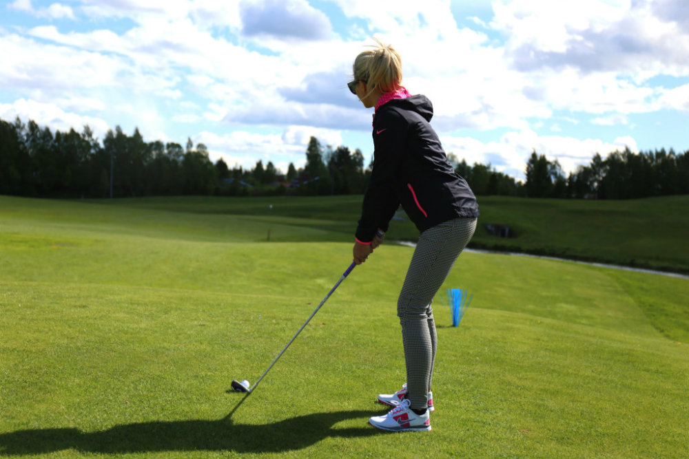louise golf